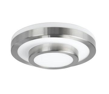 Highlight Plafondlamp IP44 nikkel-mat klein