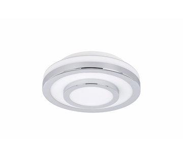 Highlight Plafondlamp IP44 chroom klein