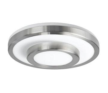 Highlight Plafondlamp IP44 nikkel-mat groot