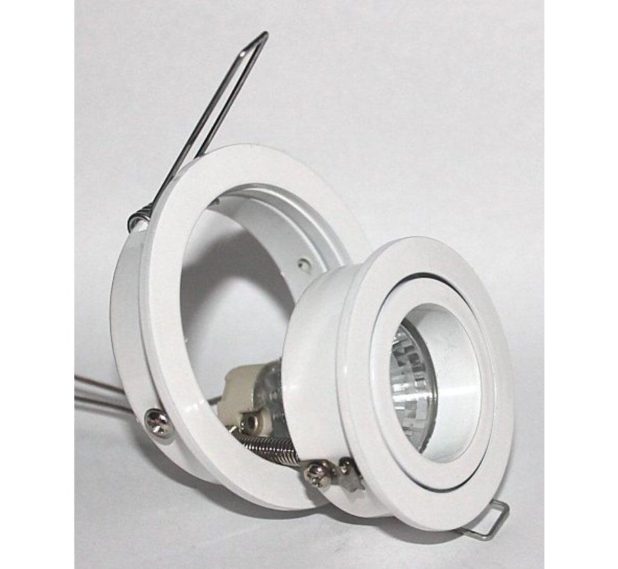 Inbouwspot Mini Tilt Blade 35 rond 12v Wit