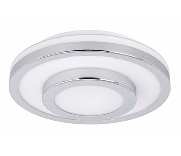 Highlight Plafondlamp IP44 chroom groot