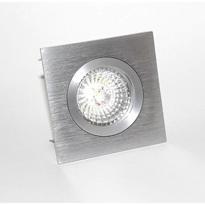 R&M Line Fix blade Q square recessed downlight  12v-230v aluminium