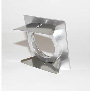 R&M Line Inbouwspot vierkant FIX blade Q 12v-230v aluminium-mat