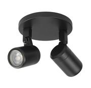 Highlight Bathroom surface mounted spotlight  RAIN 2-lights black
