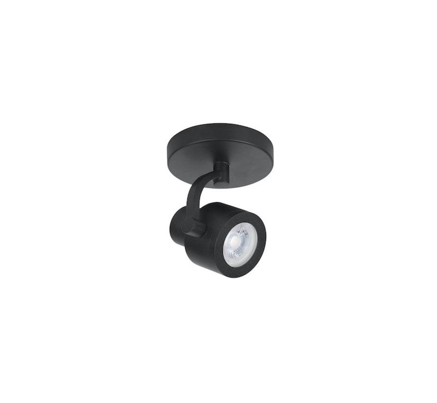 Surface-mounted spot Alto 1-light black  GU10