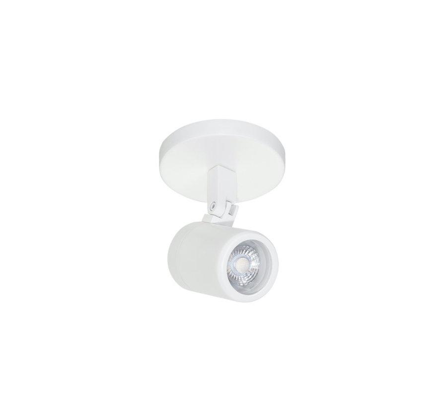 Badkamer opbouwspot RAIN 1-licht wit GU10 IP44