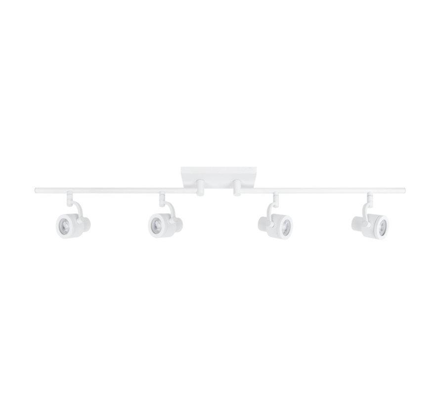 Alto Swing opbouwspot 4-lichts wit GU10