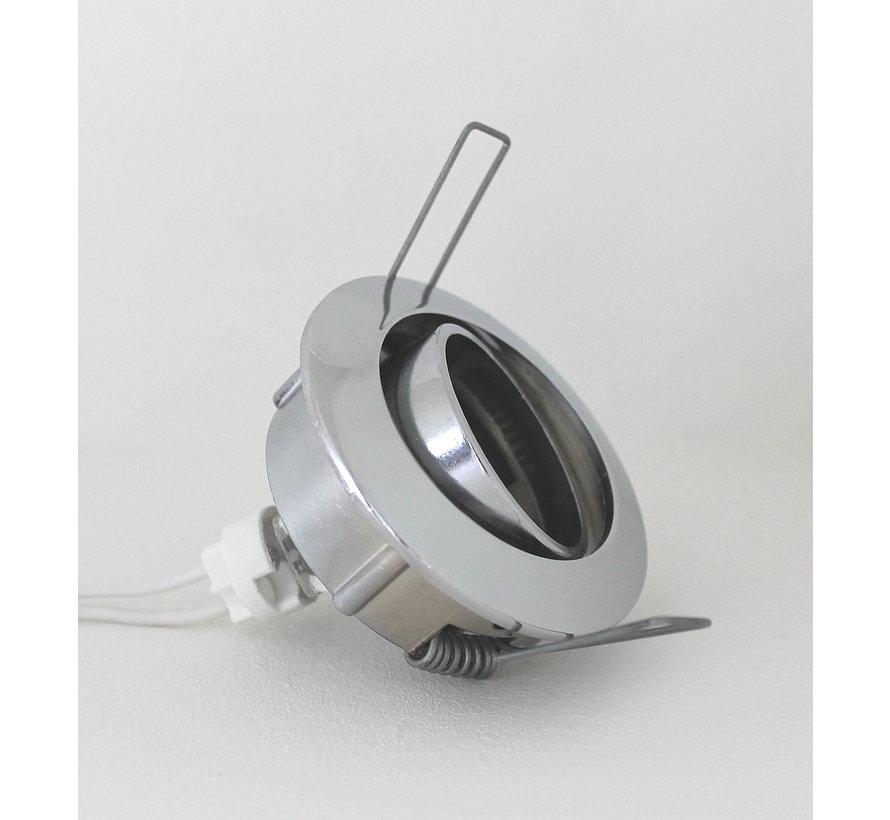 Inbouwspot SPL 410 35mm kantelbaar chroom