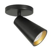 Highlight Spotlight Petunia 1-light black-gold