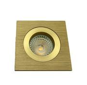 R&M Line LED downlight FIX-Q gold 6W IP65 dim-to-warm