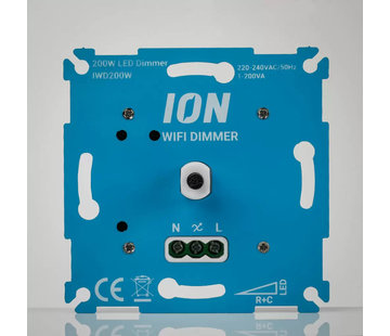ION industries WIFI LED dimmer 200W MKII - IWD