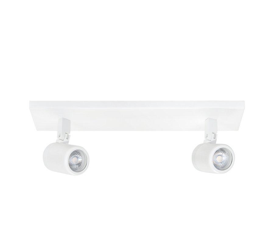 Bathroom spotlight RAIN 2-lights beam white GU10 IP44