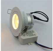 R&M Line LED downlight FIX-R white 6W dim-to-warm