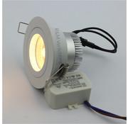 R&M Line LED inbouwspot FIX-R wit 6W dim-to-warm