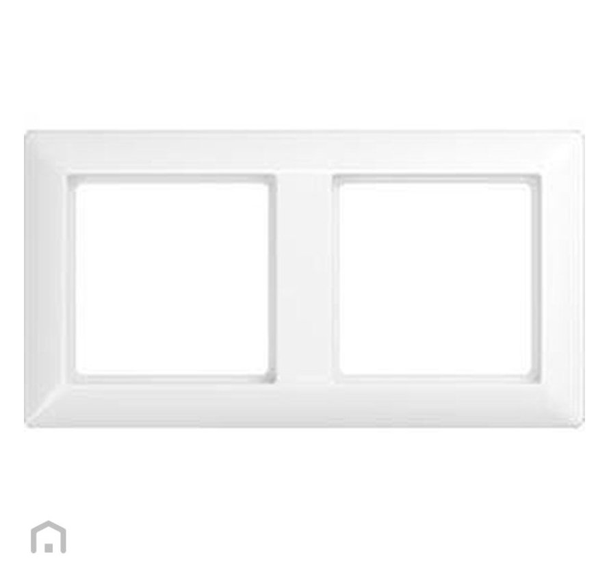 Cover double frame white AS582ww