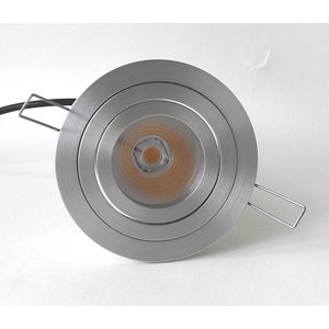 R&M Line LED downlight round aluminum 9W IP65 dimmable