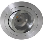 R&M Line LED downlight round aluminum 8W IP65 dimmable