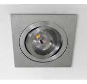 R&M Line LED square downlight 8w IP65 dimmable
