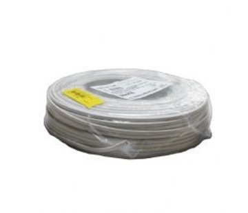 R&M Line Kabel plat wit 2X0.75