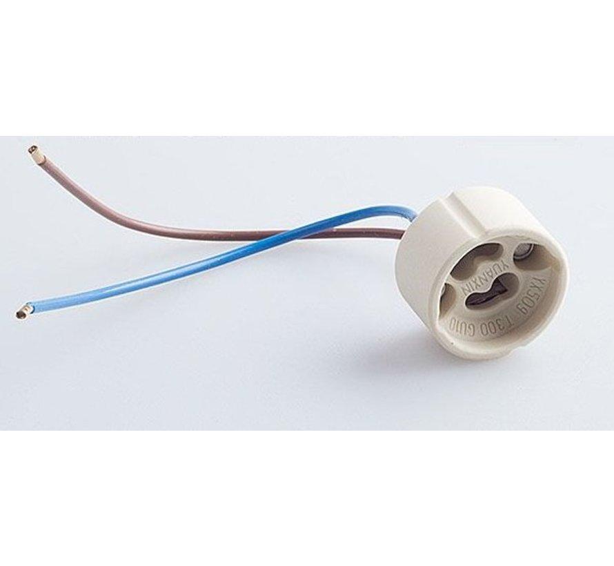 Fitting/lamphouder voor 220-240 volt GU10 lamp