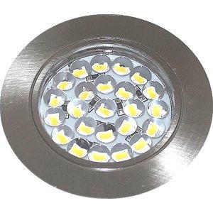R&M Line LED cabinet lighting flat 12v 1.5w SMD satin nickel