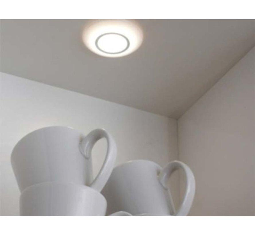Meubel opbouwspot wit SMD LED 12v 2,5w 2700k