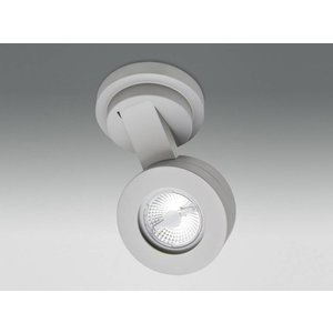 R&M Line Wand- of plafondlamp LED gx53 5w 230V IP20 aluminium
