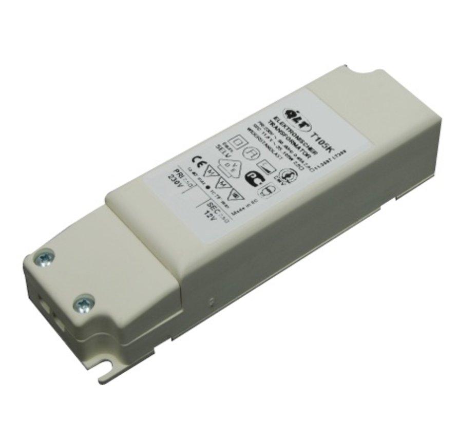 T80K electronische trafo 35-80W 12V dimbaar