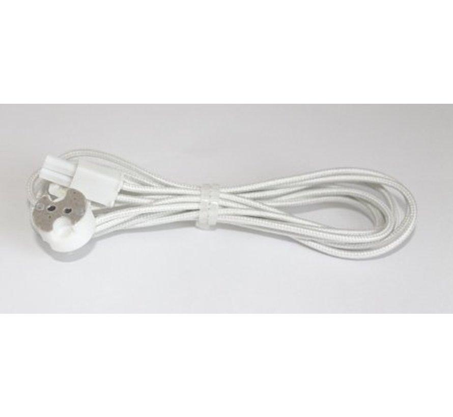 Mini AMP aansluitsnoer met lamphouder