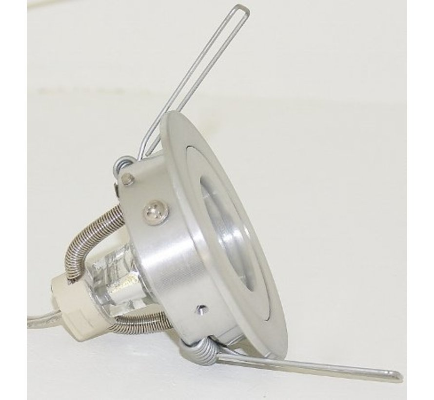 Inbouwspot Mini Fix blade 35 Rond 12v Alu-mat
