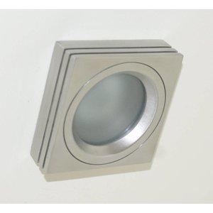 R&M Line Recessed downlight / bathroom lamp Piston Q IP65 aluminum-matt