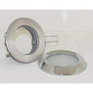 R&M Line Inbouwspot / badkamerlamp Steam flat IP65 Chroom