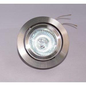 R&M Line Aluminium design Inbouwspot Silver Tilt 030 W.L.