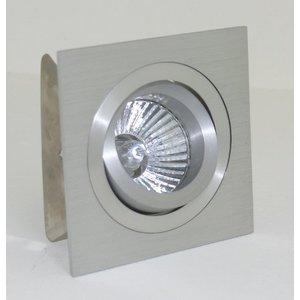 R&M Line Vierkante aluminium inbouwspot 12v/230v