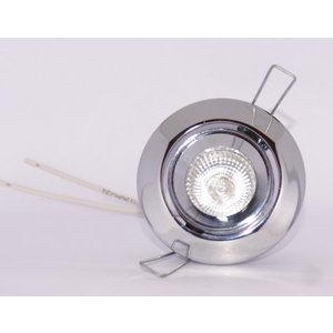 R&M Line Recessed spotlight Mini chrome Tilt 010
