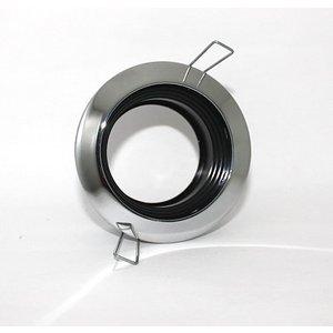 R&M Line Recessed downlight fix spl 400 12v/230v chrome