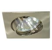 Square recessed downlights tilt