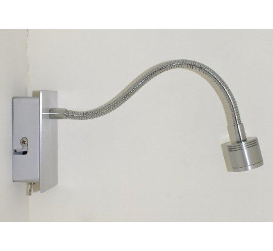 LED wandlamp flexibel 1 watt 2900k warm wit