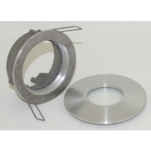 R&M Line Recessed downlight / bathroom lamp Minismooth IP65 alu-mat