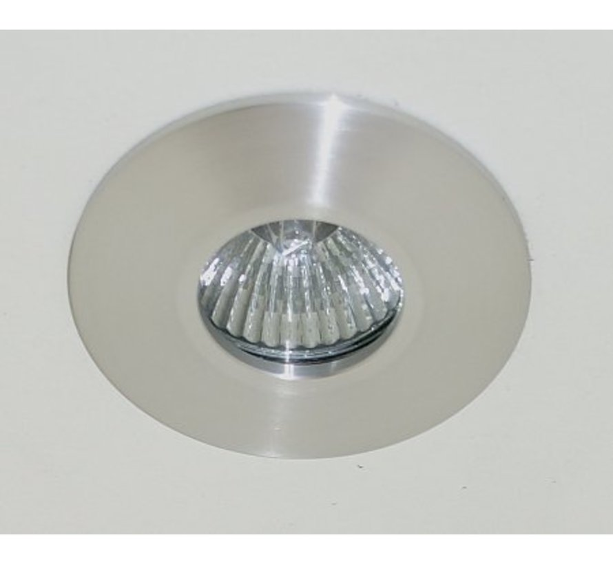 Recessed downlight / bathroom lamp Minismooth IP65 alu-mat