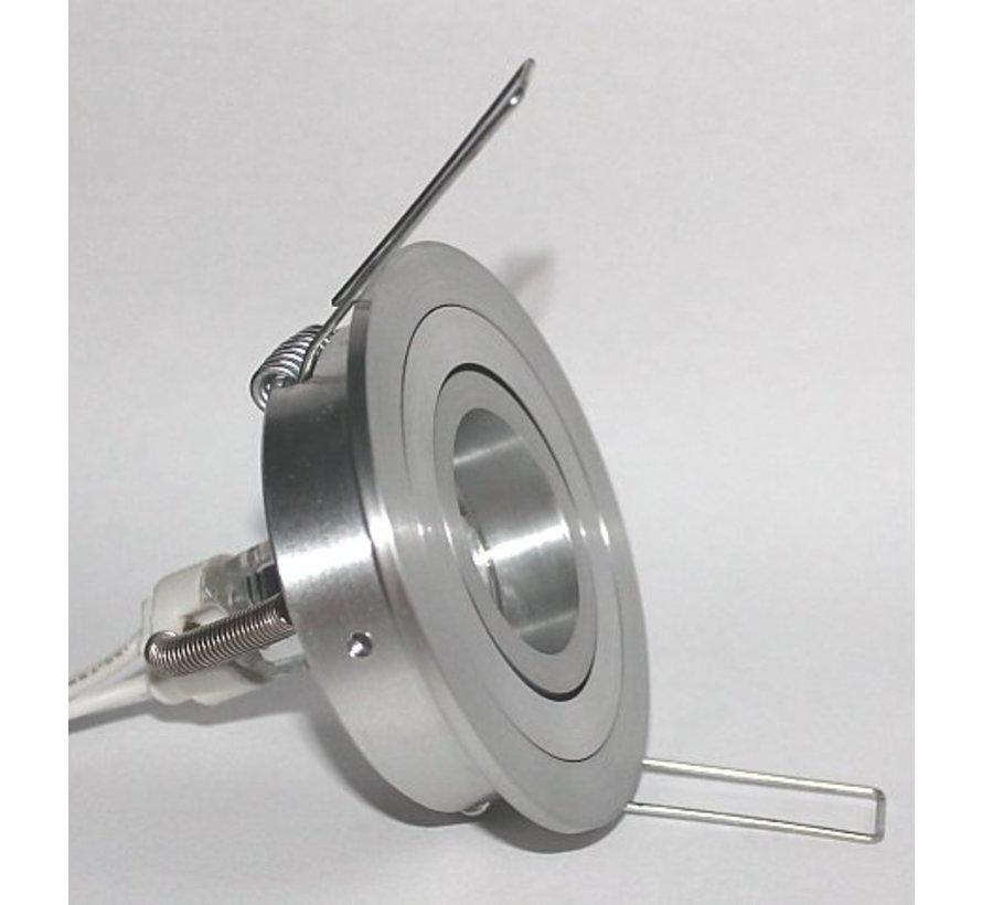 Recessed spot Mini Tilt Blade 35 Round aluminum