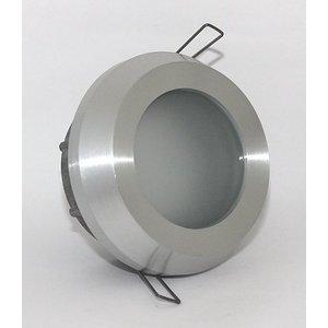 R&M Line Recessed spot / bathroom lamp Steam IP65 aluminum-mat tiltable