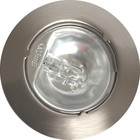 R&M Line Cabinet downlight satin nickel