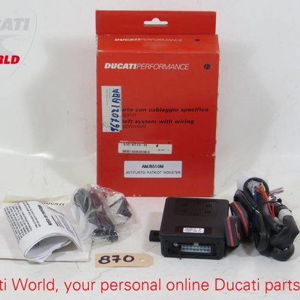 Ducati Ducati Anti-Theft System With Wiring Monster