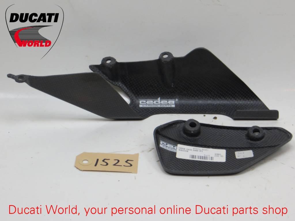 Ducati Ducati Carbon Chain Guard Set Multistrada 1000/1100