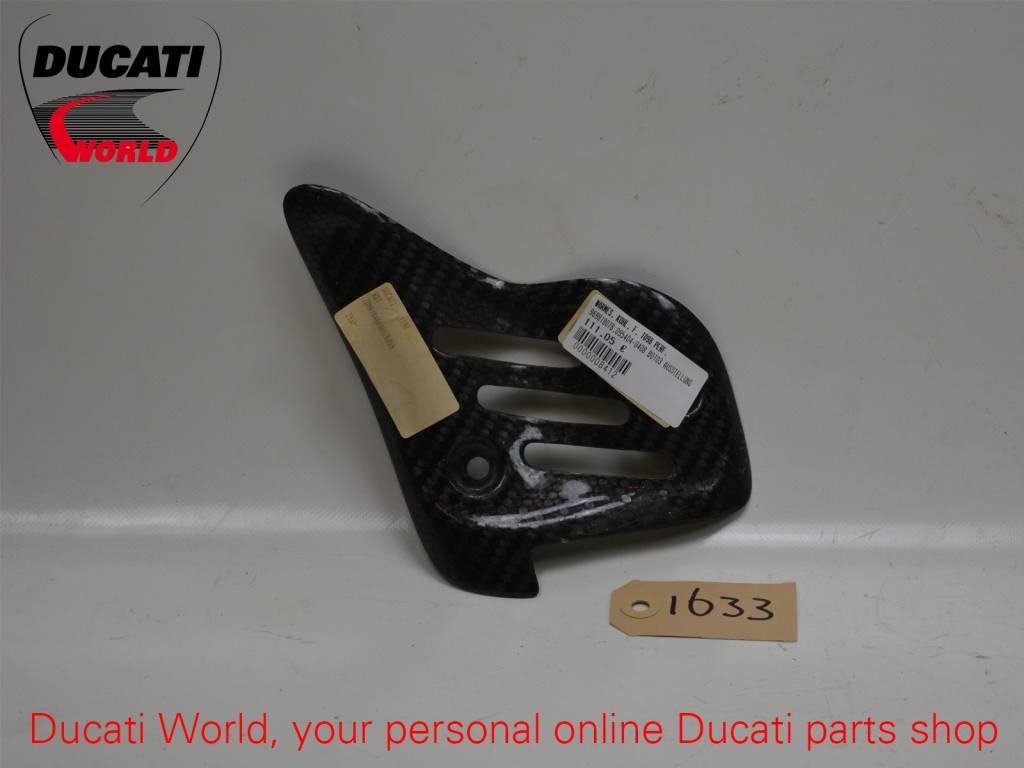 Ducati Ducati Carbon Exhaust Heatguard SBK 848/1098/1198