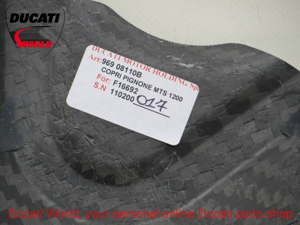 Ducati Ducati Carbon Front Sprocket Cover Multistrada 1200