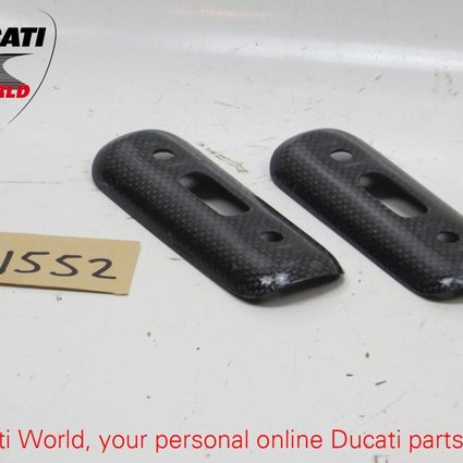 Ducati Ducati Carbon Heat Guard Exhaust Pipes Cover Set Monster S4R