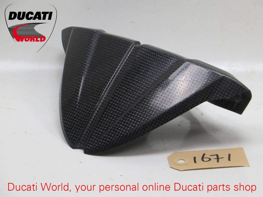 Ducati Ducati Carbon Instrument Panel Mount SBK 848/1098/1198