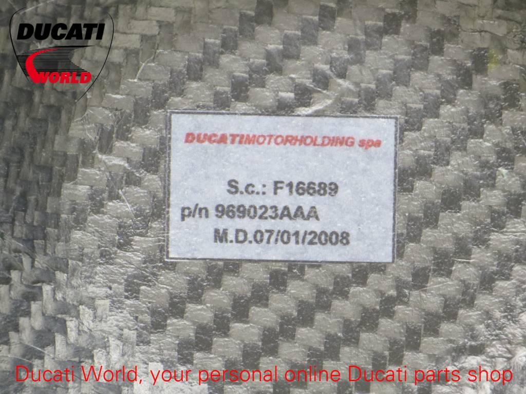 Ducati Ducati Carbon Solid Closed Clutch Cover SBK 916/996/998